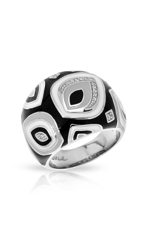Belle Etoile Zen Black and White Ring 01021410301-5 product image