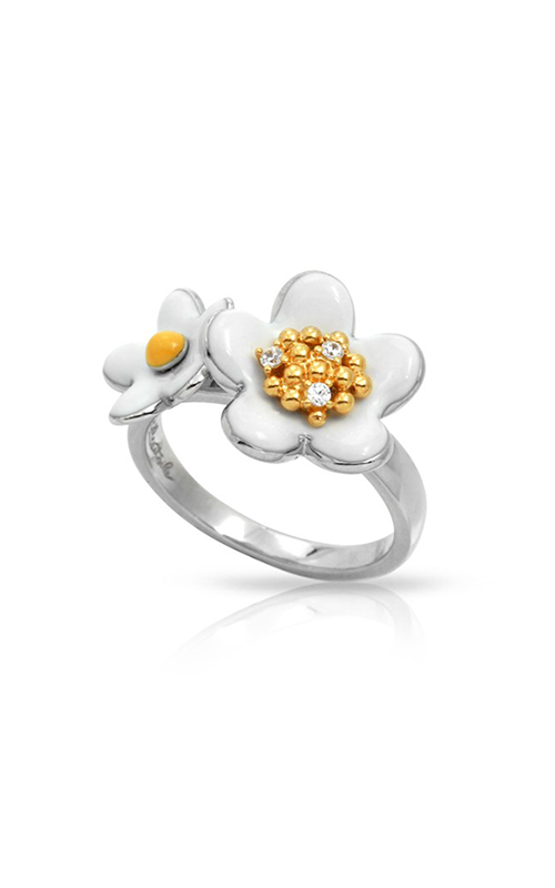 Belle Etoile Daisy Chain White Ring 01021420801-6 product image