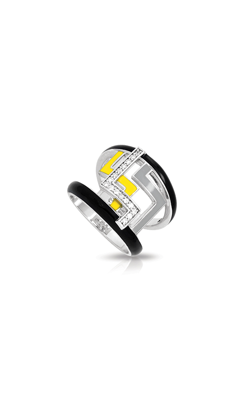 Belle Etoile Convergence Yellow and Grey Ring 01021520302-7 product image