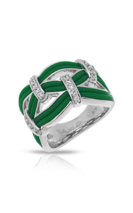 Belle Etoile Riviera Green Ring 01051410204-7 product image