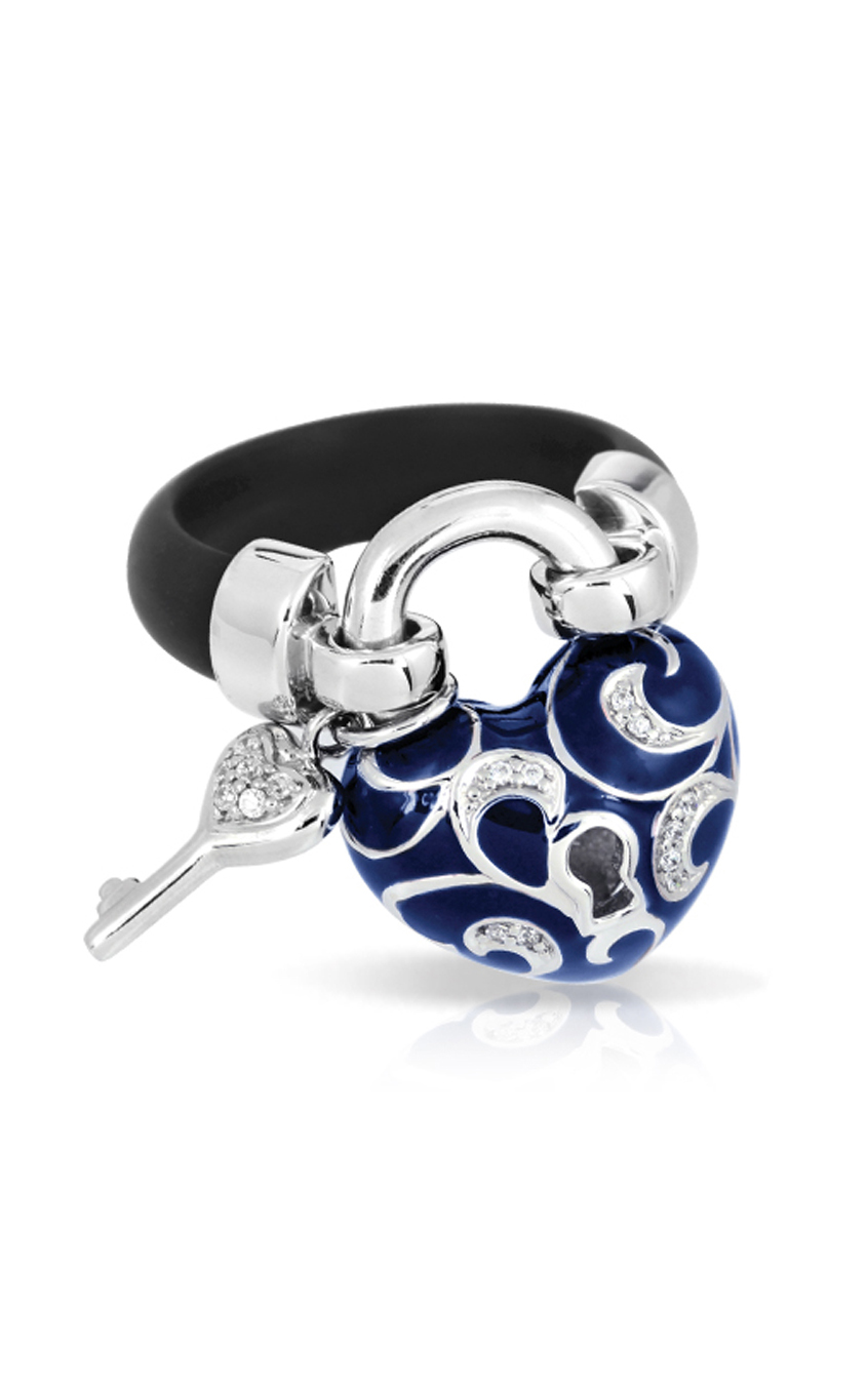 Belle Etoile Key to My Heart Blue Ring 01051210704-8 product image