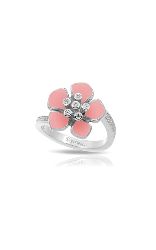 Belle Etoile Forget-Me-Not Rose Quartz Ring 01021610702-5 product image