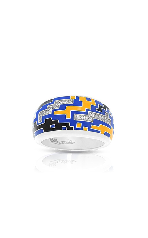 Belle Etoile Pixel Blue & Yellow Ring 01021710501-7 product image