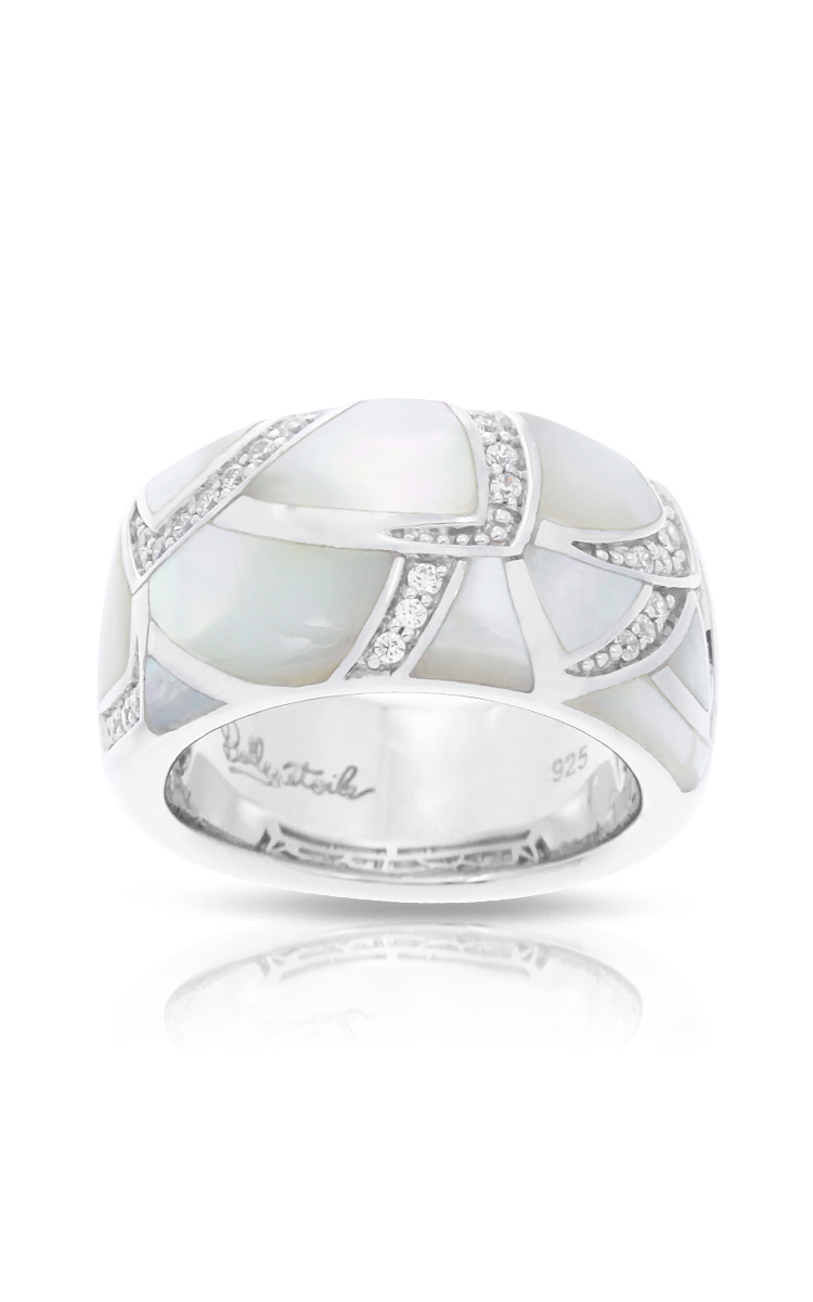 Belle Etoile Sirena White Mother-of-Pearl Ring 01031620201-5 product image