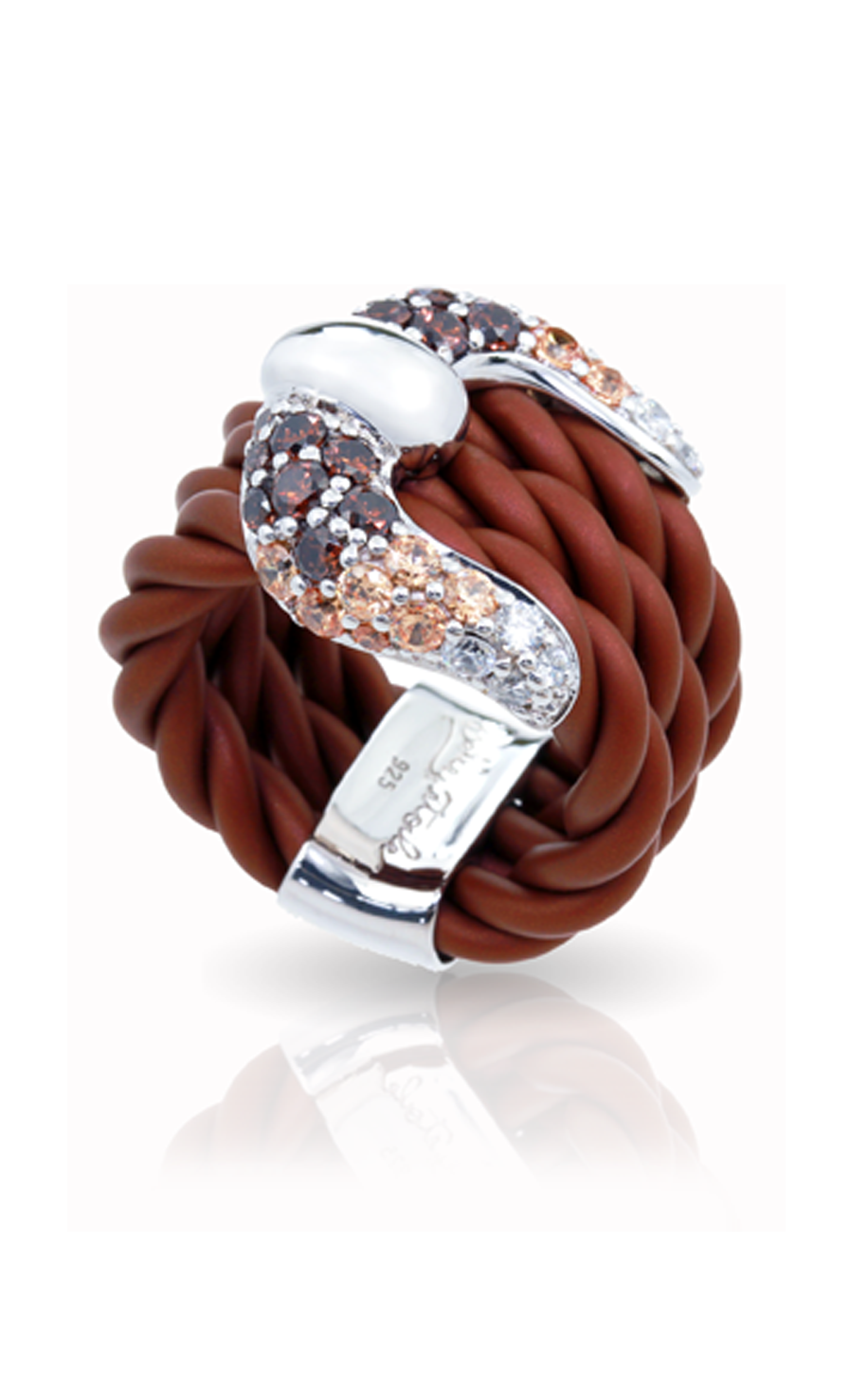 Belle Etoile Lasso Brown Ring 01051010103-7 product image