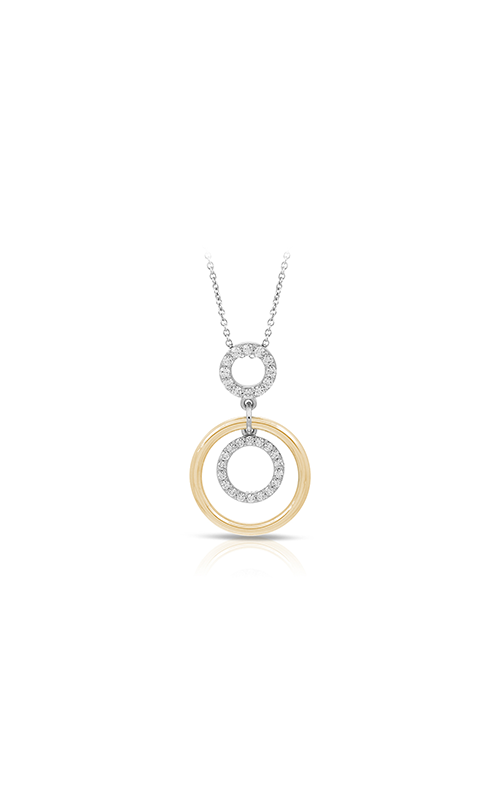 Belle Etoile Concentra White and Yellow Pendant 02011620201 product image
