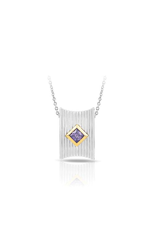Belle Etoile Valore Silver & Amethyst Pendant 02011720101 product image