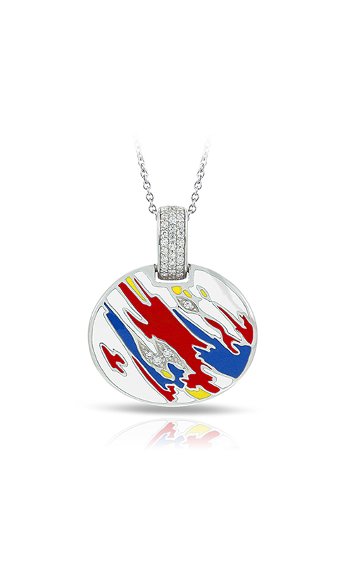 Belle Etoile Palette Red Blue and Yellow Pendant   02021610102 product image