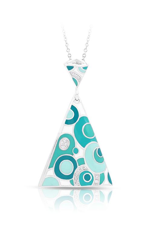 Belle Etoile Groovy White & Aqua Pendant 02021610402 product image