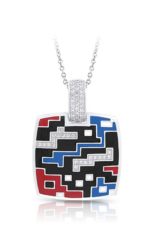 Belle Etoile Pixel Black Red & Blue Pendant 02021710502 product image
