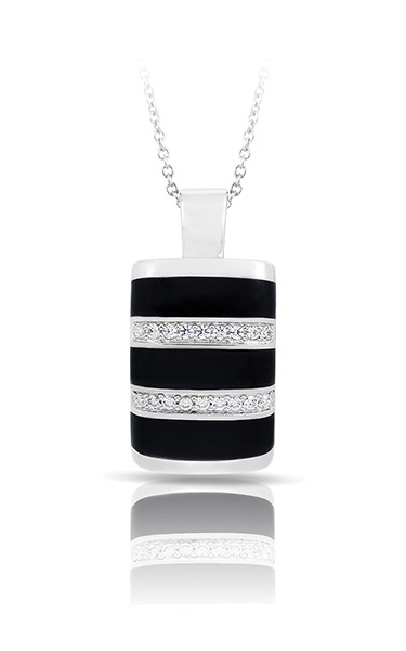 Belle Etoile Regal Stripe Onyx Pendant 02031720202 product image