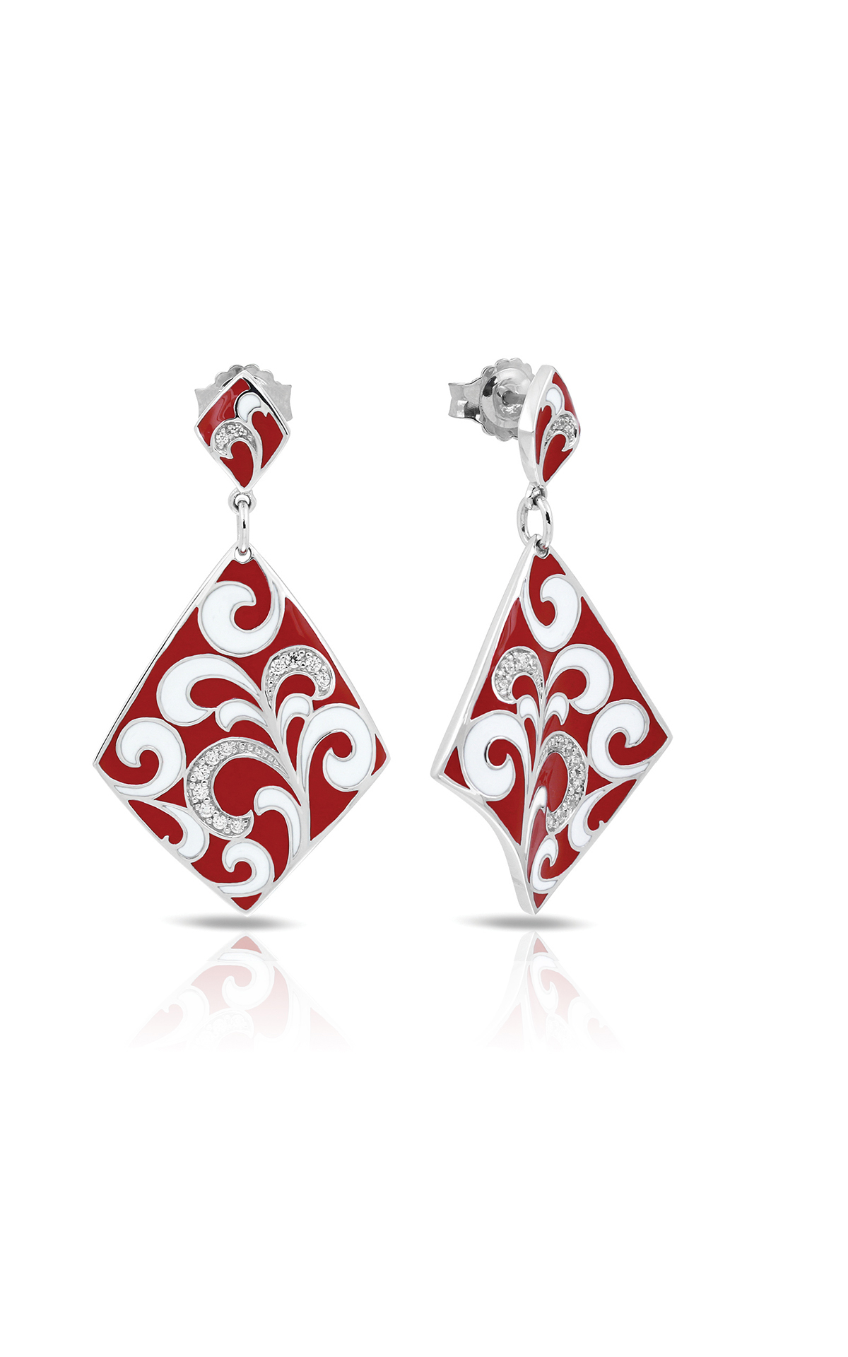 Belle Etoile Contessa Red Earrings 3021610302 product image