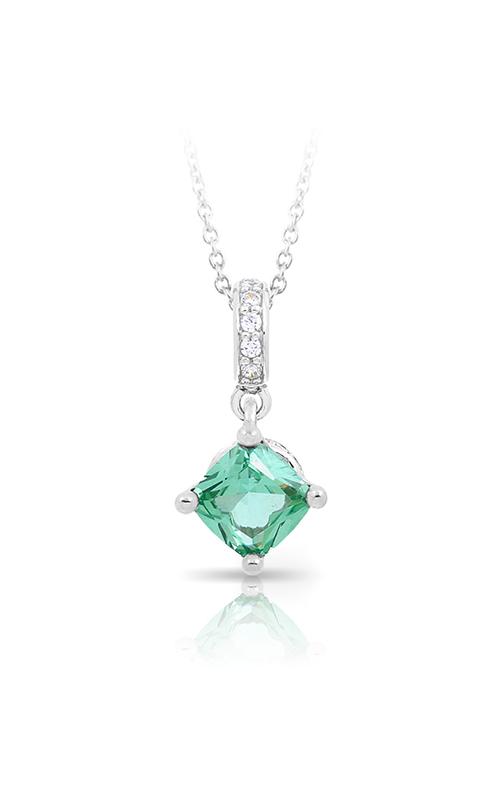 Belle Etoile Amelie Green Paraiba CZ Pendant VP-17003-03 product image