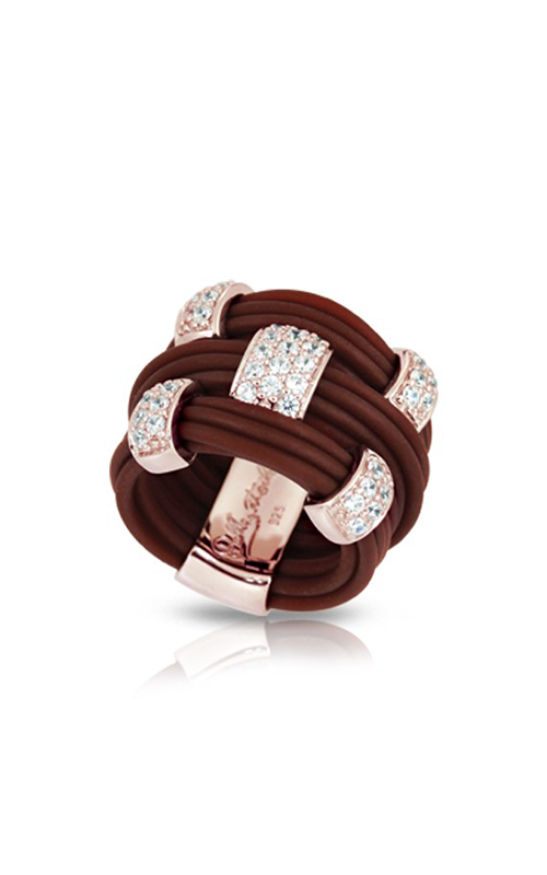 Belle Etoile Legato Brown and Rose Ring 01051210901-8 product image