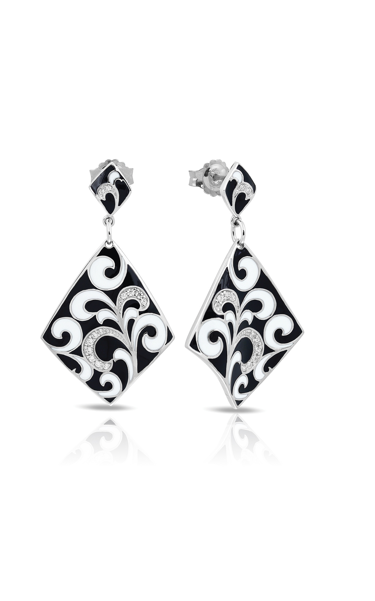 Belle Etoile Contessa Black Earrings 3021610301 product image