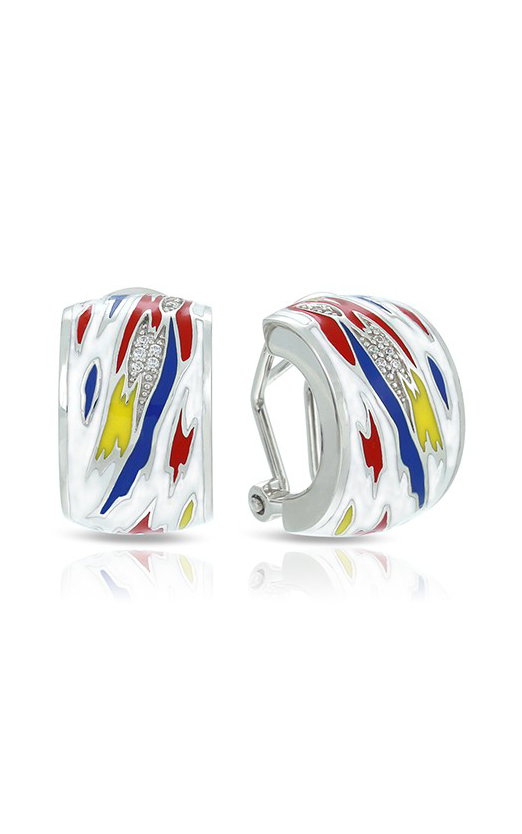 Belle Etoile Palette Red, Blue, and Yellow Earrings 03021610102 product image