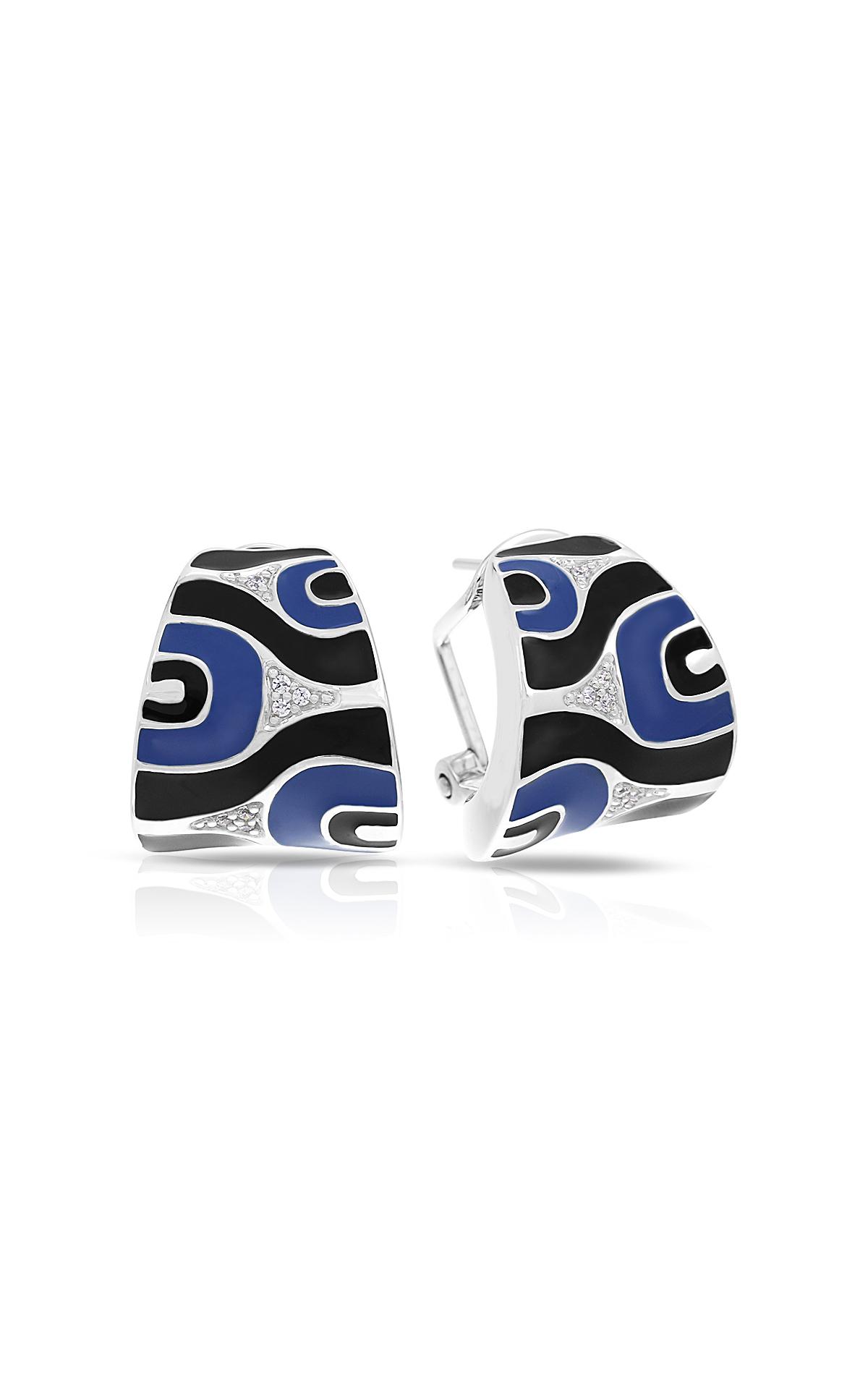 Belle Etoile Moda Blue & Black Earrings 03021320704 product image