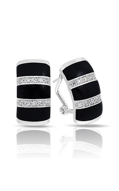 Belle Etoile Regal Stripe Onyx Earrings 03031720202 product image