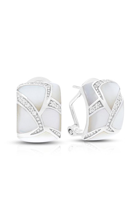 Belle Etoile Sirena White Mother-of-Pearl Earrings 03031620201 product image