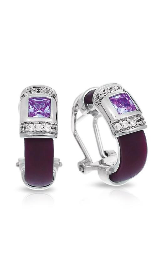 Belle Etoile Celine Plum and Lavender Earrings 03051320403 product image