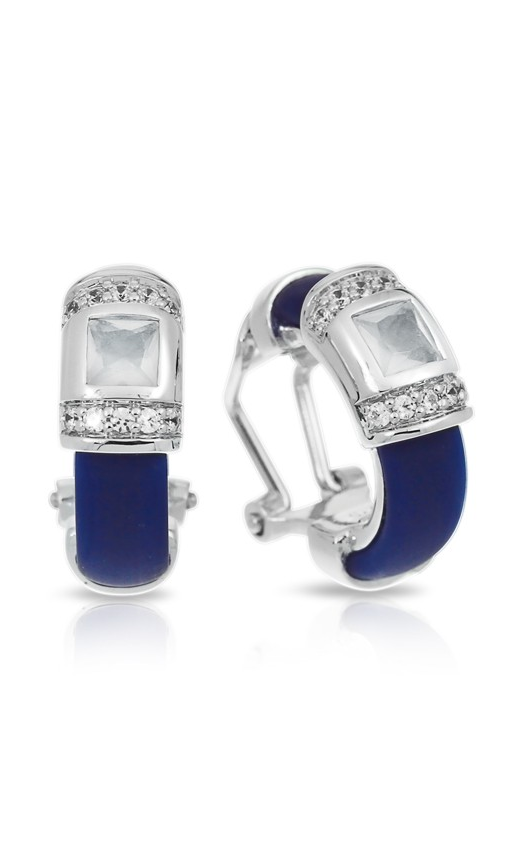 Belle Etoile Celine Blue and Milkstone Earrings 03051320404 product image