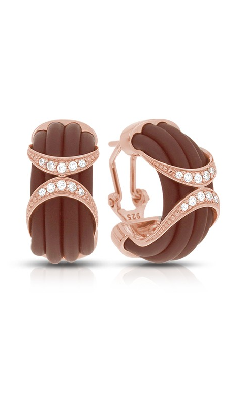 Belle Etoile Xena Brown and Rose Gold Earrings 03051620201 product image