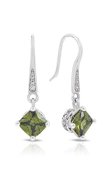 Belle Etoile Amelie Olive Earrings 111368 VE-17003-05 product image
