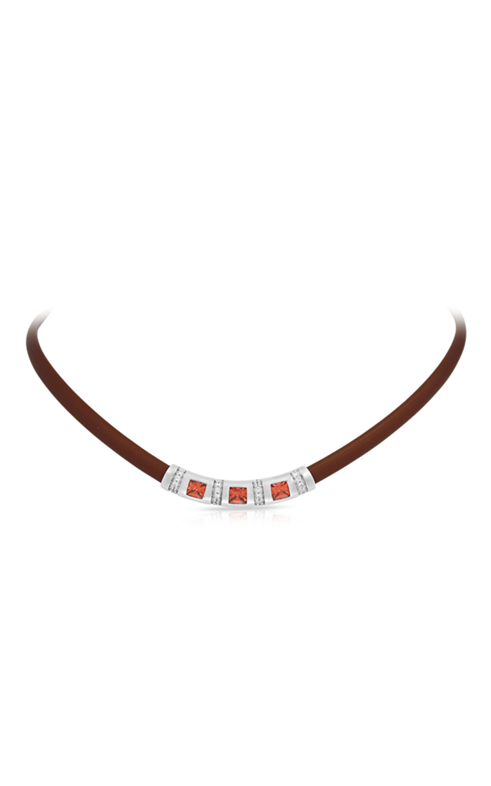 Belle Etoile Celine Plum and Amethyst Necklace 05051320403 product image