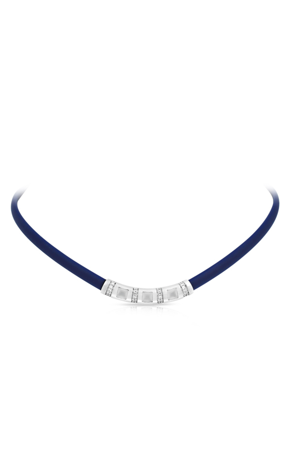 Belle Etoile Celine Blue and Milkstone Necklace 05051320404 product image