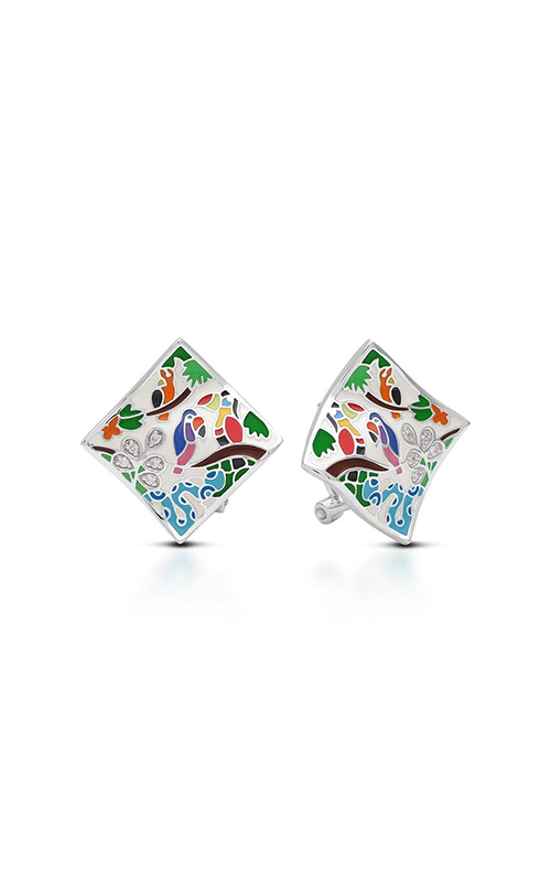 Belle Etoile Tropical Rainforest Earrings 3022010301 product image