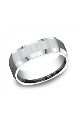 Benchmark Comfort-Fit Design Wedding Band CF8760014KW08.5 product image