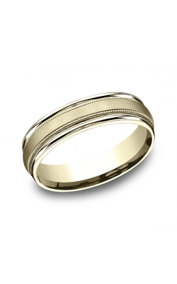 Benchmark Comfort-Fit Design Wedding Band RECF7601S14KY06.5 product image