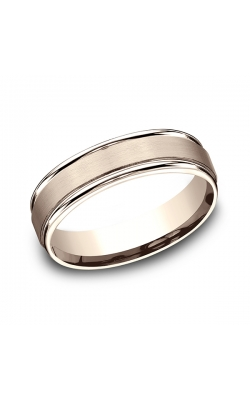 Benchmark Comfort-Fit Design Wedding Band RECF7602S14KR11.5 product image