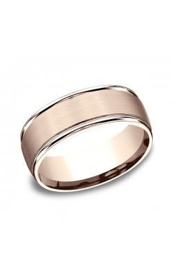 Benchmark Comfort-Fit Design Wedding Band RECF7802S14KR06.5 product image