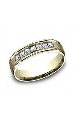 Benchmark Comfort-Fit Diamond Wedding Ring RECF51651614KY06.5 product image