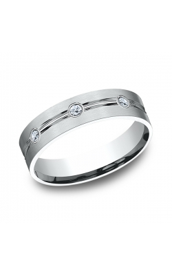 Benchmark Diamonds Comfort-Fit Diamond Wedding Ring CF526128PT14.5 product image