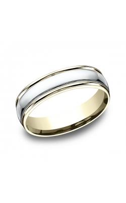 Benchmark Two Tone Comfort-Fit Design Wedding Band CF1560814KWY09 product image