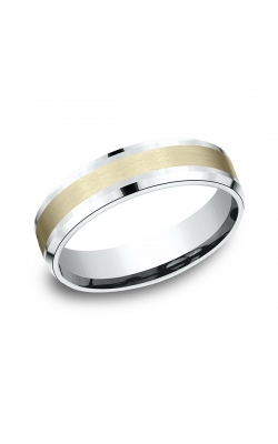 Benchmark Two Tone Comfort-Fit Design Wedding Band CF20601014KWY06 product image