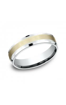 Benchmark Two Tone Comfort-Fit Design Wedding Band CF20601014KWY12 product image