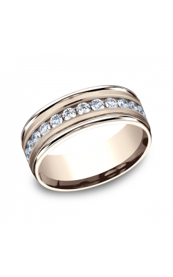 Benchmark Diamonds Comfort-Fit Diamond Wedding Band RECF51851614KR04 product image