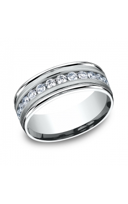 Benchmark Comfort-Fit Diamond Wedding Band RECF51851614KW08.5 product image