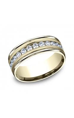 Benchmark Comfort-Fit Diamond Wedding Band RECF51851614KY06.5 product image