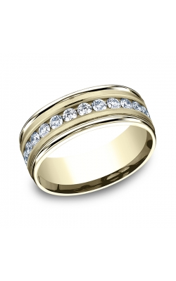 Benchmark Comfort-Fit Diamond Wedding Band RECF51851614KY08.5 product image