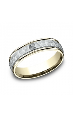 Benchmark Two Tone Comfort-Fit Design Wedding Band CF15630314KWY06 product image