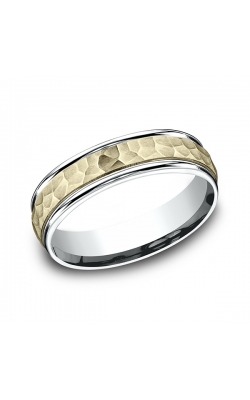 Benchmark Two Tone Comfort-Fit Design Wedding Band CF17630314KWY11 product image