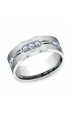 Benchmark Comfort-Fit Diamond Wedding Band CF52853314KW04.5 product image