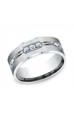 Benchmark Comfort-Fit Diamond Wedding Band CF52853314KW08.5 product image