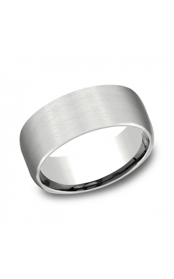 Benchmark Comfort-Fit Design Wedding Band CF7196114KW08.5 product image