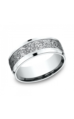 Benchmark Comfort-Fit Design Wedding Band CF80864814KW07.5 product image