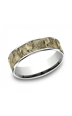 Benchmark Two Tone Comfort-Fit Design Wedding Ring CFT816563314KWY12 product image